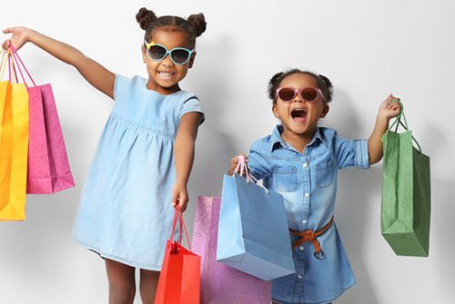 About Kids shopping websites