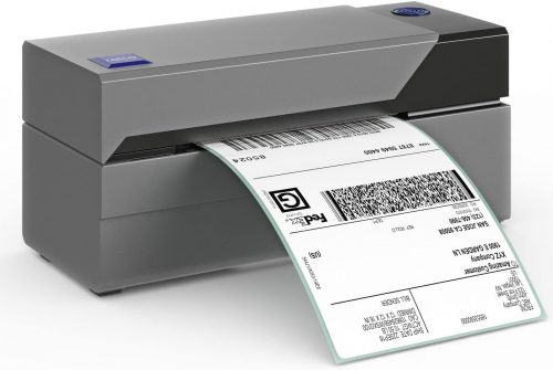 How do thermal label printer works and use in shipment?