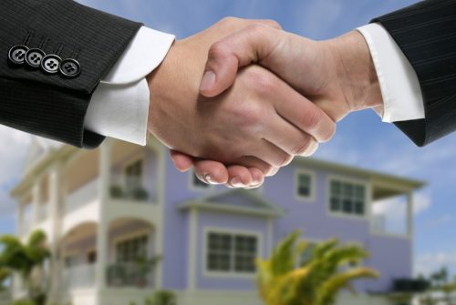 The person who helps for buying property
